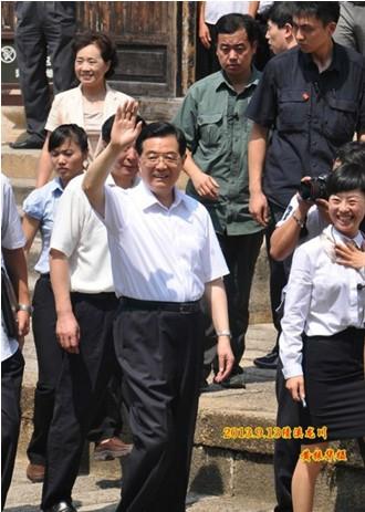 胡锦涛同志回乡