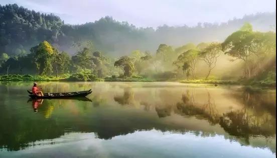 恬静优美田园风景图片